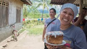 On a célébré la fête de Pâques sur l'île Philippine de Mindanao