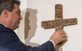Allemagne, à partir du 1er juin: Un crucifix dans chaque bâtiment public en Bavière