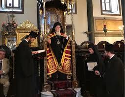 Un représentant de l'Église orthodoxe russe participe à la célébration de la fête de S. S. le patriarche Bartholomée de Constantinople