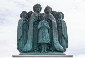 Un monument à la mémoire de la famille de Nicolas II dans un monastère près Pereslavl-Zalessky