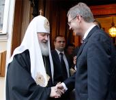 Le Patriarche et le président Christian Wulff