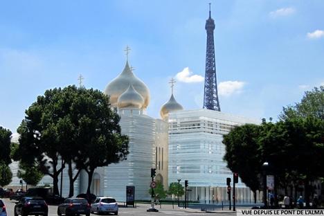 Les 15 et 16 septembre le Centre culturel russe et la cathédrale de la Sainte Trinité seront ouverts au public à l'occasion des Journées  Européennes du Patrimoine