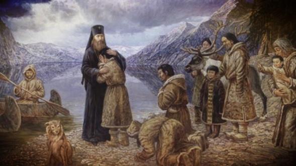 Saint Innocent de Moscou ou d'Alaska (1797-1879)