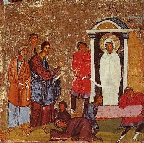 Père Alexandre Schmemann:  COMMENTAIRE LITURGIQUE DU DÉBUT DE LA SEMAINE SAINTE  (du samedi de Lazare au Mercredi saint)