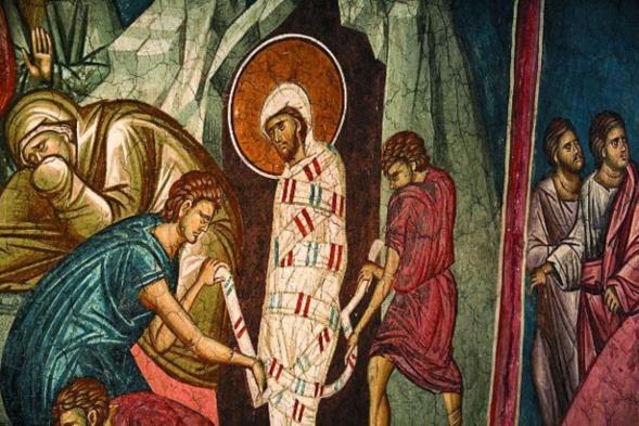Homélie pour le samedi de la résurrection de Lazare