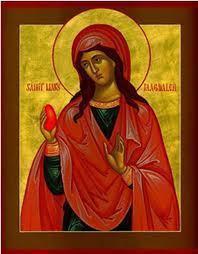 Sainte Marie Madeleine : Le premier œuf  de Pâques et la résurrection du Seigneur