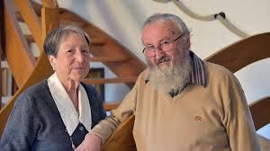 Monique et Noël Ruffieux - l'union catholique-orthodoxe, sont mariés depuis près de 60 ans.
