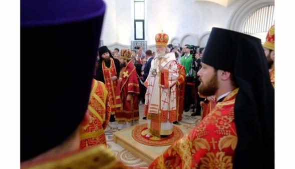 Le patriarche Kyrill consacre la nouvelle église orthodoxe russe de Strasbourgeoise