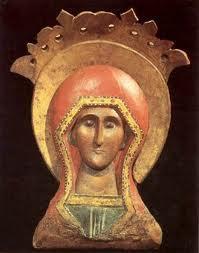 Sainte Parascève de Rome, (117-138), dite «Piatnitza» ( Vendredi )