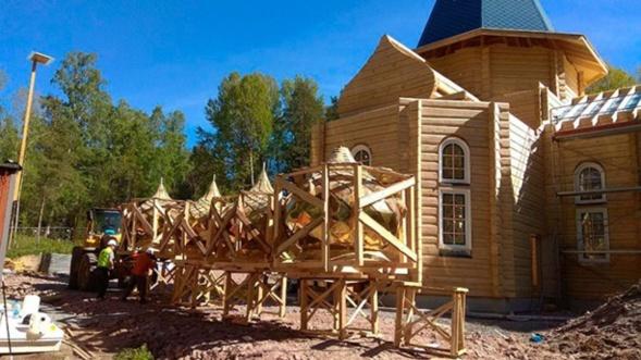 Une nouvelle paroisse de l'Eglise orthodoxe russe à Västerås, en Suède