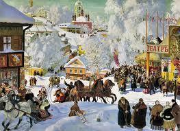 Nouvel An et calendrier julien en Russie