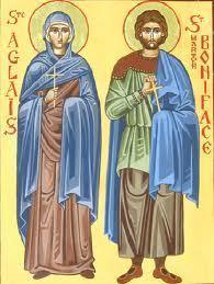 Saint Martyr BONIFACE et Sainte Aglaïs