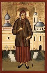Sainte Xénia de Pétersbourg
