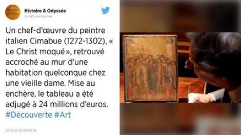 La France veut conserver un rarissime chef-d'œuvre de Cimabue, vendu plus de 24 millions d'euros
