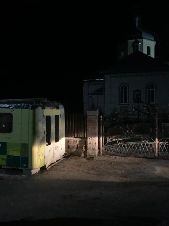 Des partisans de l'Église schismatique d'Ukraine ont blessé des fidèles montant le guet devant leur église