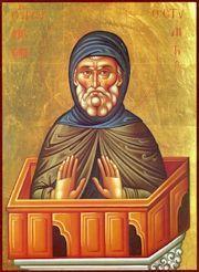 Notre vénérable père Syméon le Stylite (c. 390-459)