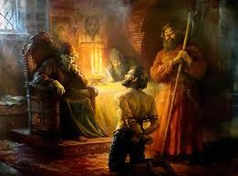Saint Philippe  de Moscou et son ami d'enfance d'Ivan IV, dit le Terrible