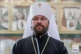 Le métropolite Hilarion contre l'image de Staline dans la principale église militaire de Russie