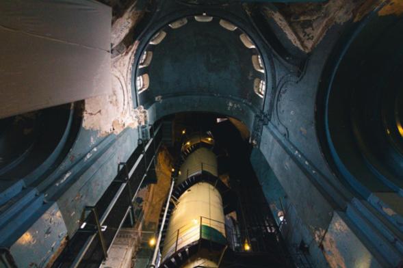 Sous l'URSS l'église Notre-Dame-de-la-Miséricorde a été transformée en école de plongée