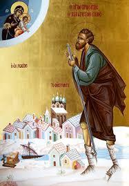 Saint Procope d'Oustioug (+1303) est un thaumaturge, fol-en-Christ