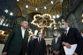 Le Sultan invite pour le 24 juillet...La première prière islamique dans la basilique Sainte-Sophie durera un jour!