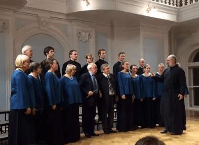 Concert  le 15 novembre 2020 de chants liturgiques russes  en mémoire de l'Exode Russe (1920 - 2020)