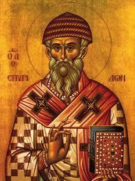 Saint Spyridon de Trimythonte + 348