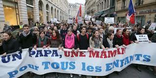 MARIAGE POUR TOUS: le dimanche 13 janvier 2013 à Paris