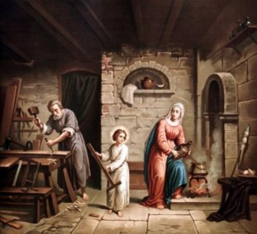 Saint Joseph Artisan - Epoux de la Vierge Marie