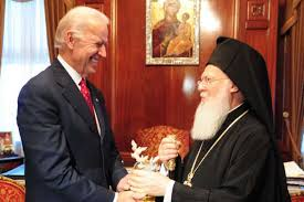 Le président élu  Biden a annoncé son désir de coopérer avec le patriarche de Constantinople