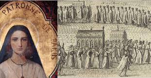 Sainte Geneviève: la procession de la patronne de Paris n'aura pas lieu aujourd'hui
