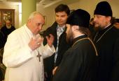 Une délégation du patriarcat de Moscou assiste à l'intronisation du pape François