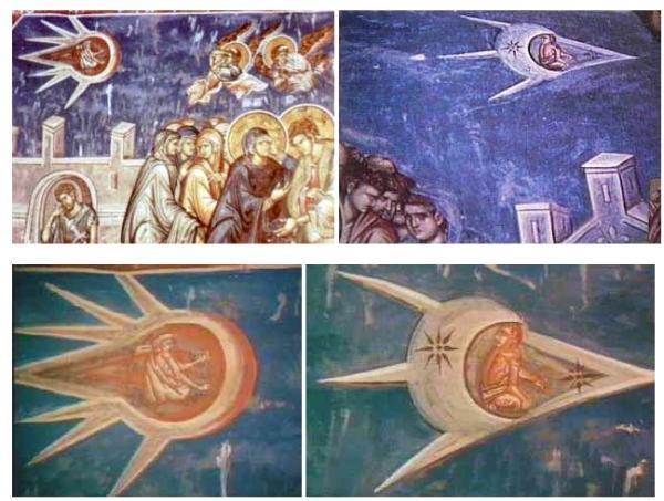 Surprenantes fresques dans un monastère en Serbie