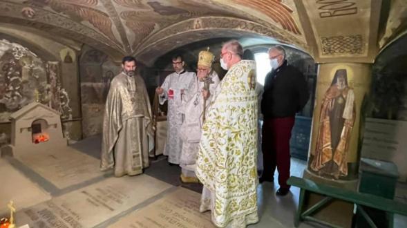 Appel aux dons pour la restauration de la crypte de l'église du cimetière russe de Saint-Geneviève-des-Bois