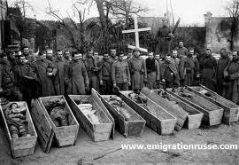 Les morts russes sur le front français de 14-18 commémorés à Mourmelon (Marne)