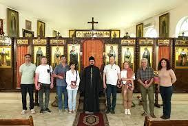 Des archéologues et des restaurateurs russes en visite à la Représentation de l'Église russe à Damas