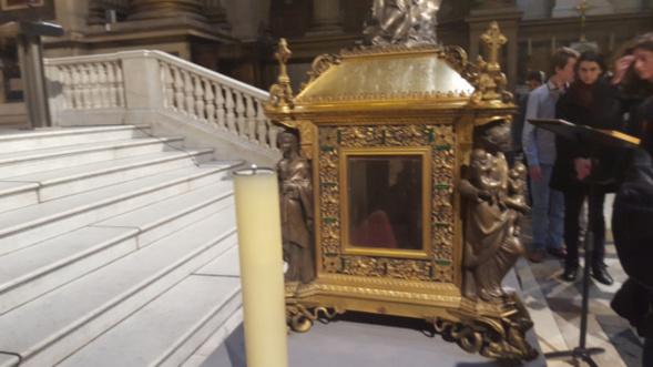Le dimanche 23 mai a 15 h: office orthodoxe devant les reliques de Sainte Marie Madeleine