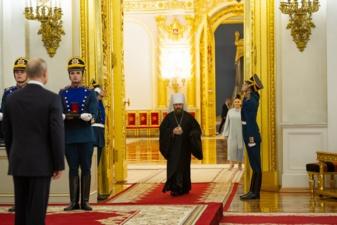 Le métropolite Hilarion de Volokolamsk reçoit le prix d'État de la Fédération de Russie