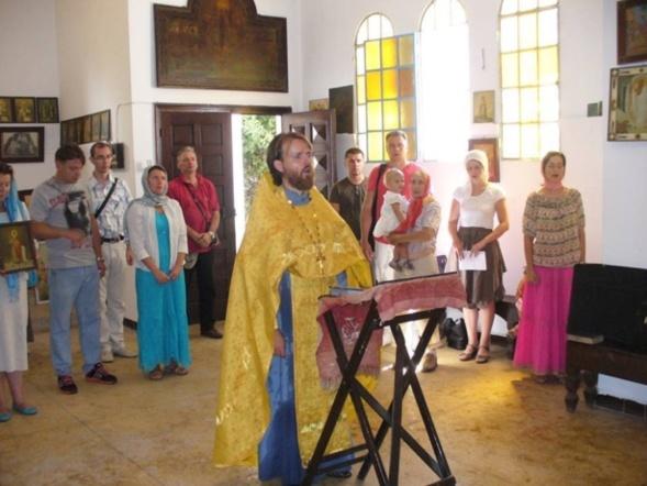Eglise orthodoxe russe à Casablanca : Rendons gloire à Dieu pour la résurrection miraculeuse de cette église!