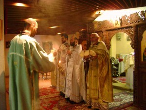 l'Église orthodoxe bulgare: Visite de l'archimandrite Job Getcha
