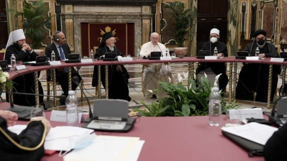 Le métropolite Hilarion de Volokolamsk a rencontré le patriarche Bartholomée au Vatican