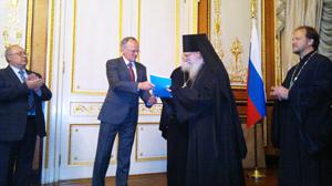 Le séminaire théologique de la Sainte Trinité, Etats-Unis, a reçu un don de livres en provenance de Russie