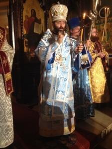 Intronisation, le 5 décembre,  de l'archevêque Job de Telmessos, exarque du patriarche œcuménique pour les paroisses russes en Europe occidentale