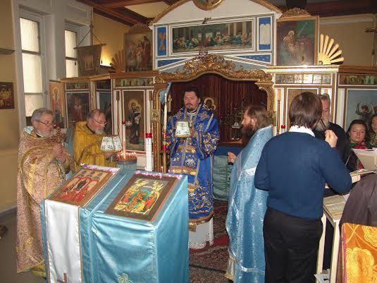 Théophanie à la paroisse Notre Dame de toute Protection (Lyon)