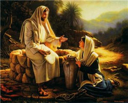 Le cinquième dimanche de Pâques, nous célébrons la fête de la Samaritaine