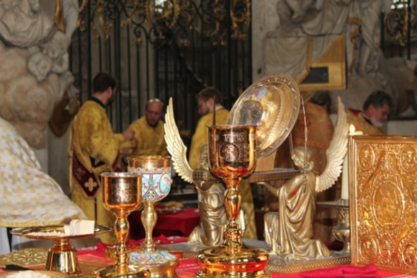 Divine Liturgie à Amiens