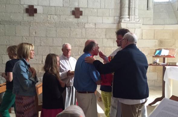 Une divine liturgie orthodoxe a été officiée le jour de la Transfiguration de Notre Seigneur à l'église romane Sainte Radegonde
