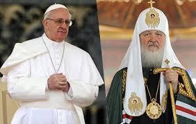Le 12 février rencontre à Cuba du patriarche Cyrille avec le pape François