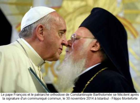 Différentes positions orthodoxes sur le rapprochement avec les Catholiques