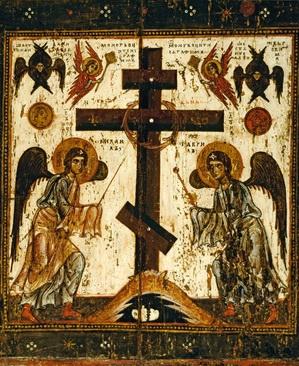 Troisième dimanche du Carême, le Triode nous propose de vénérer la Croix  du Christ